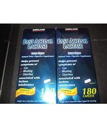 Fast Acting Lactase Kirkland 2-180 Caplet Boxes - $41.15