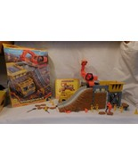 Imaginext Construction Site in Box with Dump Truck & Action Figure + Acc... - $30.41