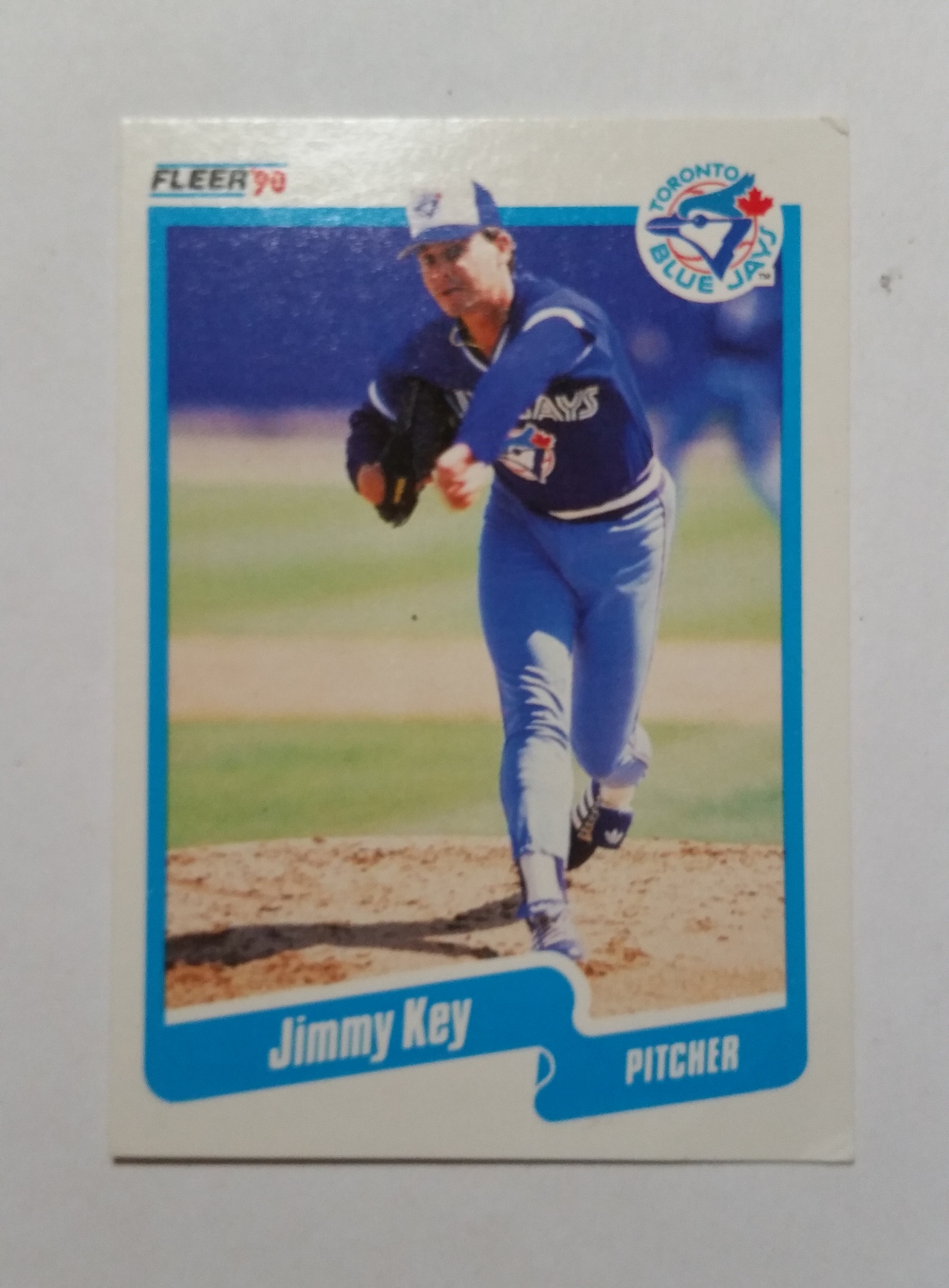 1990 Fleer 85 Jimmy Key Toronto Blue Jays And 50 Similar Items