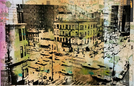 'Manhattan' Color Print - $45.00