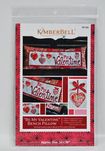 Kimberbell Be My Valentine Bench Pillow KD166 - $13.75