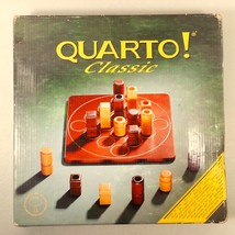 Quarto Strategy Board Game - Gigamic - Wood Pie... - $23.04