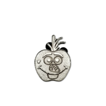 Disney Pin 2015 Olaf Apple Silver Chaser Hidden Mickey 3 of 10 - $6.79
