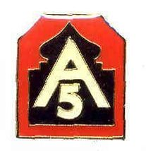 12 Pins - 5TH ARMY , fith 5 hat lapel pin 637 - $9.00