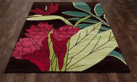 "8x11 (7'10"" x 10'6"") Tropical Palm Coastal Flor... - $299.00"