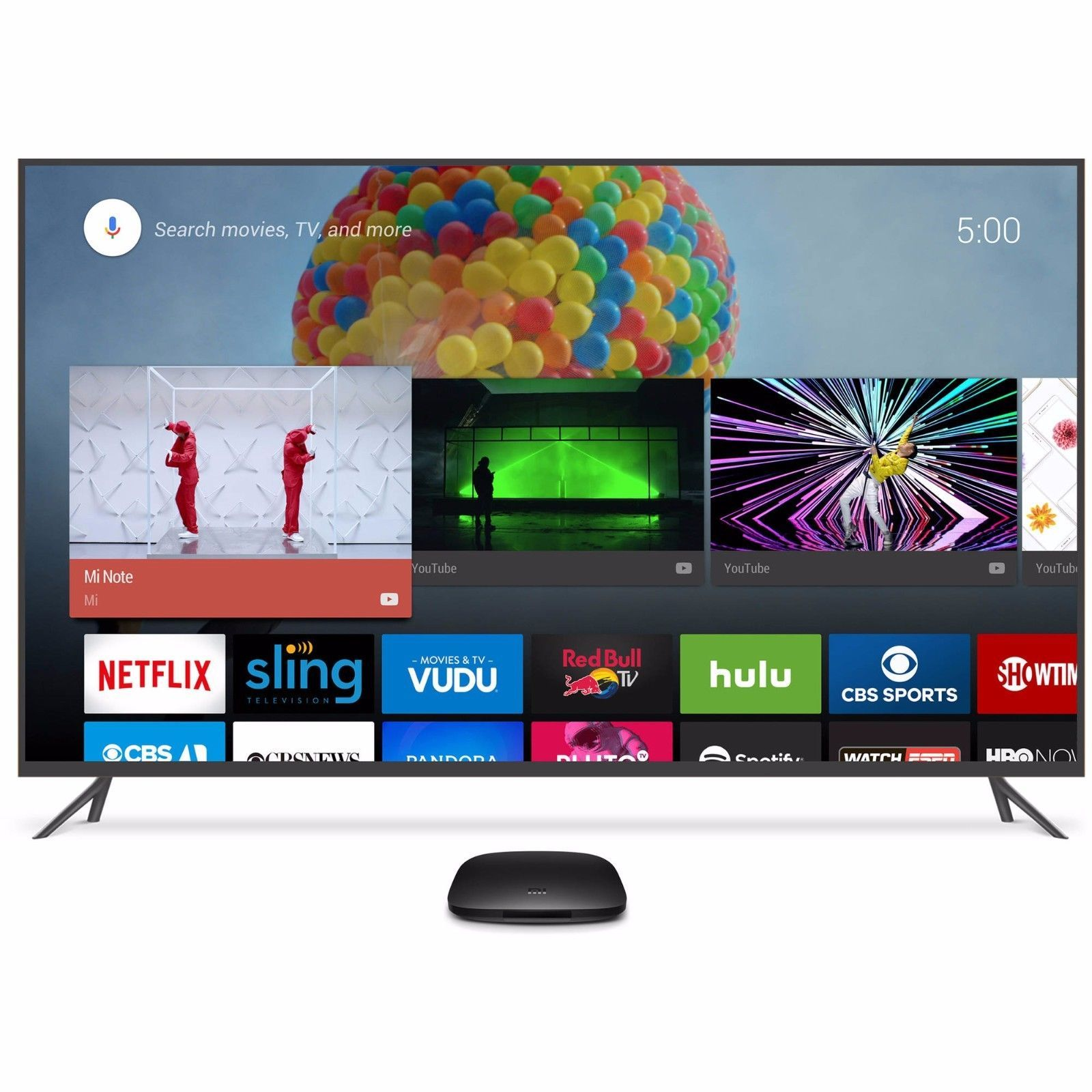 Xiaomi Mi Box Android TV 6.0 4K UHD HDR 2160p built-in Chromecast 2016 MDZ-16-AB