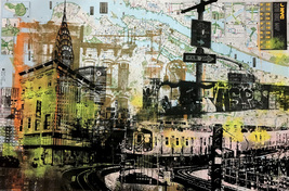 'NYC Collage' Print - $65.00