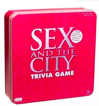 Sex and the City Trivia Game Travel Edition by Cardinal Industries - $18.69