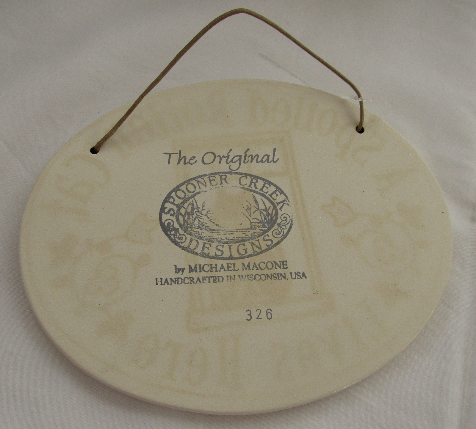 Oval Wall Plaque, Spooner Creek, Spoiled Rotten Cat