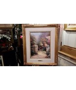 Thomas Kinkade Rose Gate 16 x 12 20/ 95 S/P Canvas - $2,227.50