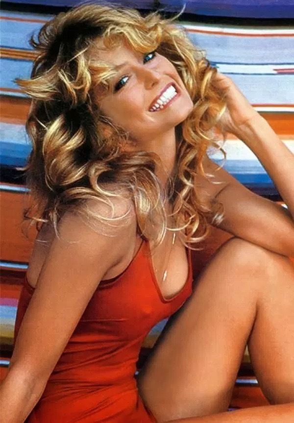 FARRAH FAWCETT HOLLYWOOD ACTRESS IMAGE Poster Gloss Print Laminated 32x24