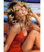 FARRAH FAWCETT HOLLYWOOD ACTRESS IMAGE Poster Gloss Print Laminated 32x24 - $13.95