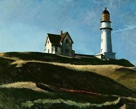 EDWARD HOPPER LIGHTHOUSE HILL FINE ART PRINT 32x24 - $13.95