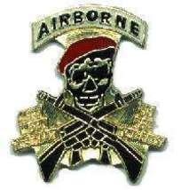12 Pins - AIRBORNE , military hat tac lapel pin #1935 - $8.00