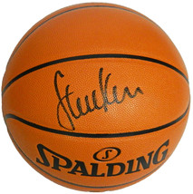 Steve Kerr Signed Spalding Game Series Replica NBA Basketball - $160.00