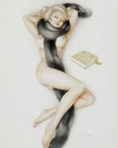 ALBERTO VARGAS PIN-UP GIRL ART PRINT R 32x24 - $13.95