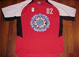 Walt Disney World Mickey Mouse Epcot 1982 Red Adult Jersey M - $44.50