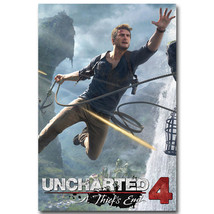 Uncharted 4 A Thiefs End Game Cover Art Poster ... - $13.95