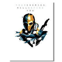 Deathstroke - Batman Arkham Origins Game Art Po... - $13.95