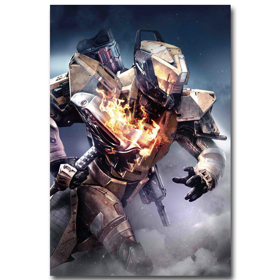 Destiny 2 The Taken King Shooting Game Poster Titan 32x24