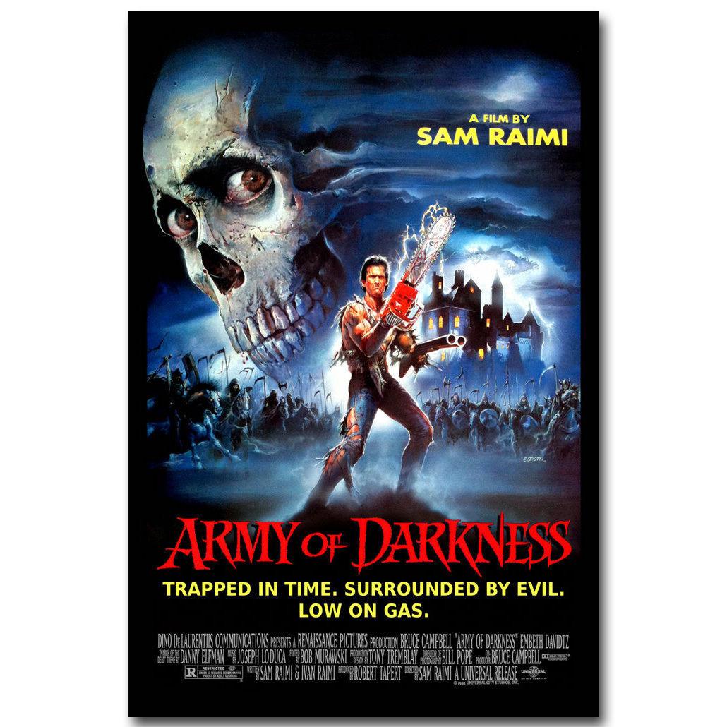 Classic horror movie poster