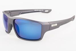 H2Optix ASHORE H2005 Matte Gunmetal / Grey Blue Flash Mirror Polar Sungl... - $147.51