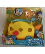 NIck Jr. Bubble Guppies Swim-sational School Bus Mr. Grouper & Gil Figur... - $25.73