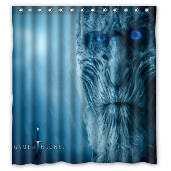 Game Of Thrones #14 Shower Curtain Waterproof Made From Polyester