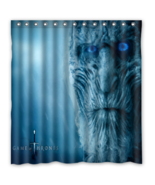 Game Of Thrones #14 Shower Curtain Waterproof Made From Polyester - $42.30 - $48.30