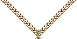 ST. JOSEPH - Gold Filled Medal & Chain - 0036K image 3