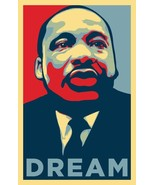Martin Luther King Jr Wall Print POSTER Decor 32x24 - $13.95