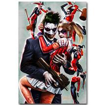 Joker and Harley Quinn Superheroes Comic Poster... - $13.95