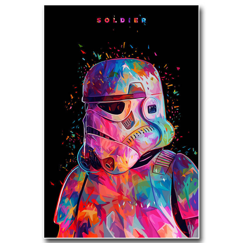 Star Wars 7 Force Awakens Movie Poster Stormtrooper 32x24