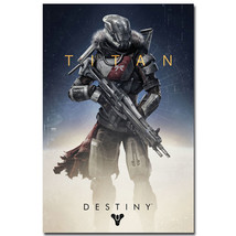 Titan - Destiny Video Game Art Poster Print Roo... - $13.95
