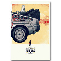 Back To The Future Car 3 Classic Movie Fabric P... - $13.95