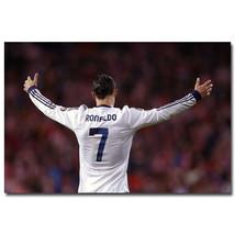Cristiano Ronaldo Soccer Star Sport Poster 32x24 - $13.95
