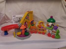 Little People Surprise Sounds Fun Park + Train Nice Works + People + Animals - $22.12