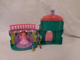 Disney Princess Royal Party Ariel Palace Playset With Dolls - $23.22