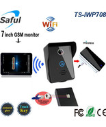 "HD 7"" Touch Screen 3G Wireless Phone Video Intercom Door Bell Android/IO... - €152,19 EUR"