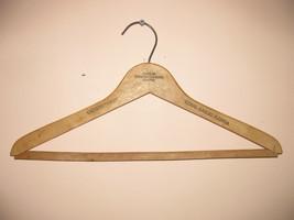 VINTAGE WOOD CLOTHS HANGER UNIVERSITY INN CORAL GABLES FLORIDA =====PL'S... - $5.00
