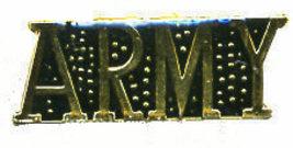 12 Pins - ARMY , us hat tac cap lapel military pin #48 - $9.00