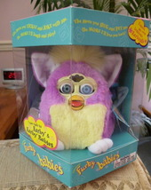 Original ADORABLE 1999 Springtime Furby Baby Blue Eyes NRFB Model #70-940 NEW - $59.99