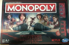 MONOPOLY Stranger Things NETFLIX HASBRO BOARD GAME(NEW IN BOX)SEALED - $30.00