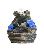 Crystal Ball on Mountaintop with Blue Rhino & Elephant Water Fountain - $111.94