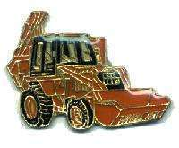 12 Pins - BACKHOE , back hoe hat lapel pin #192