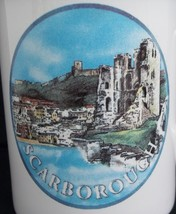 Scarborough Castle Coffee Tea Mug Cup Tams Made in England Yorkshire - $19.79