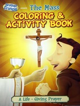 Brother Francis The Mass Coloring & Activity Book Children's Brand NEW - $8.20