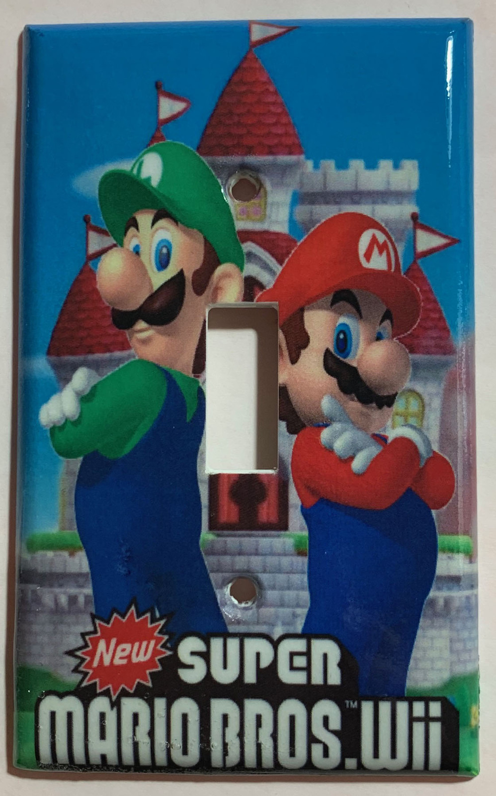 Mario wii castle single toggle