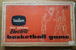 VINTAGE TUDOR 1960 TRU ACTION ELECTRIC BASKETBALL GAME **NEAR PRISTINE!!!** - £69.11 GBP