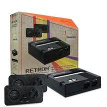 $14.95 Retron 1 NES System Top Loader BLACK + 2... - $14.95